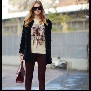 Jackets & Blazers - Black faux fur coat